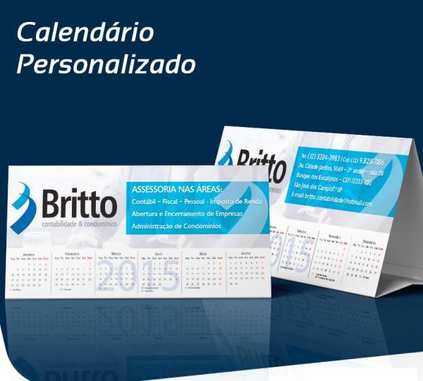Calendário 2022 Personalizado