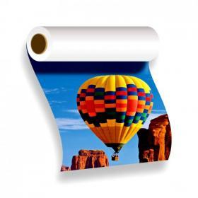 Adesivo - Grande Formato Vinil Branco  4x0 - Frente Colorido  Corte Reto