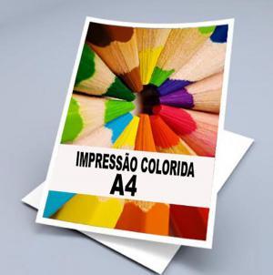Imprimir no Couche Papel Couche Fosco A4 (21x29,7cm) Colorido  Diversos Qualidade Laser Color