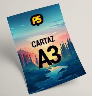 Imprimir no Couche A3 Papel Couche Fosco A3+ (45x32cm) Colorido  Diversos Qualidade Laser Color